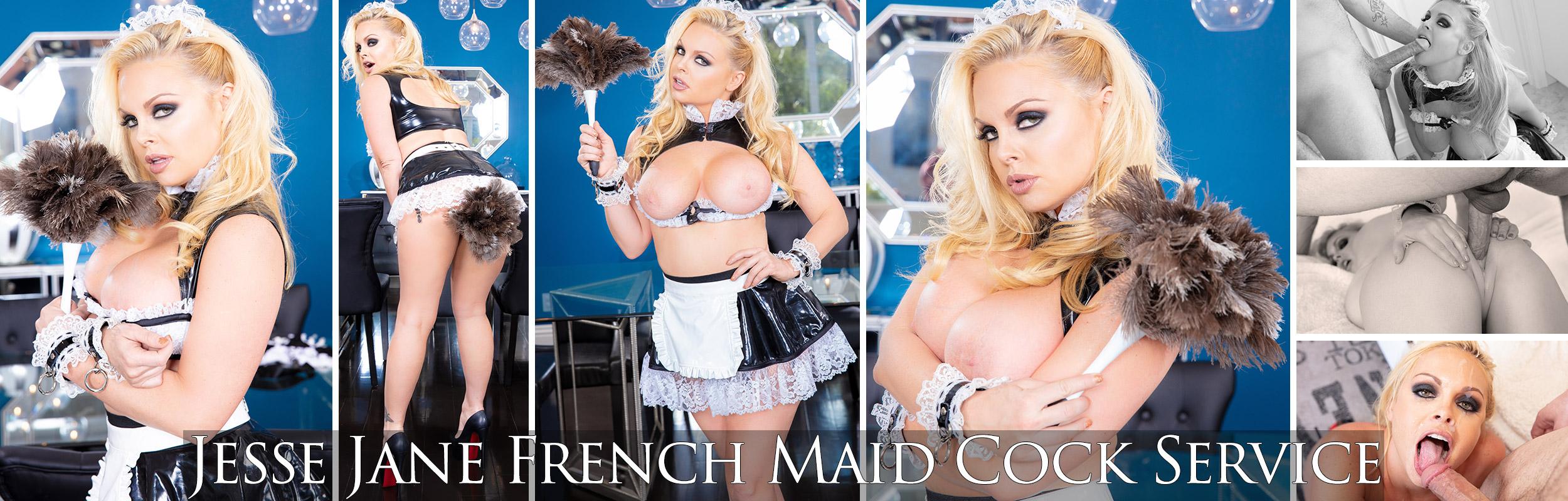 Jesse Jane: French Maid Cock Service