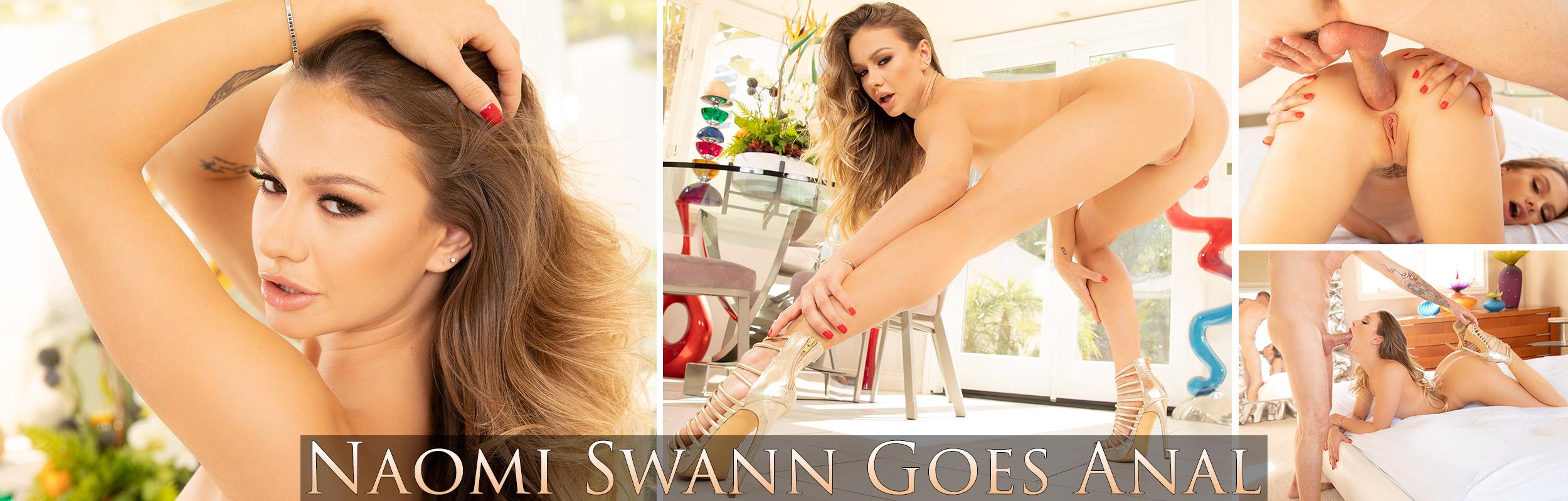 Naomi Swann Goes Anal