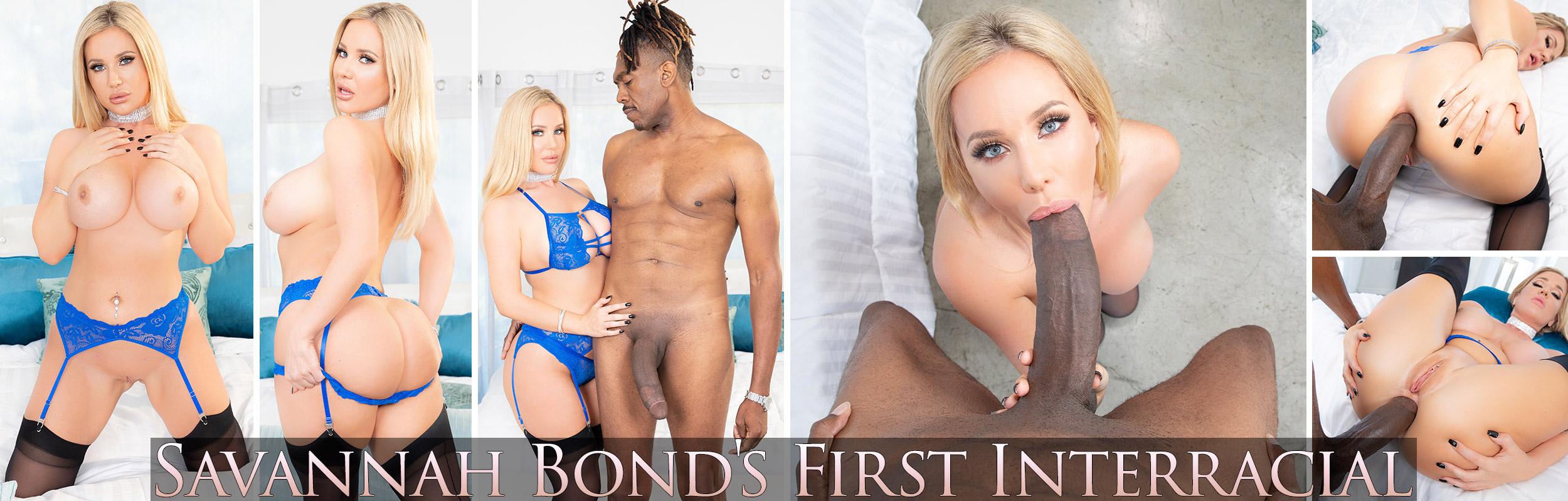 Savannah Bond's First Interracial