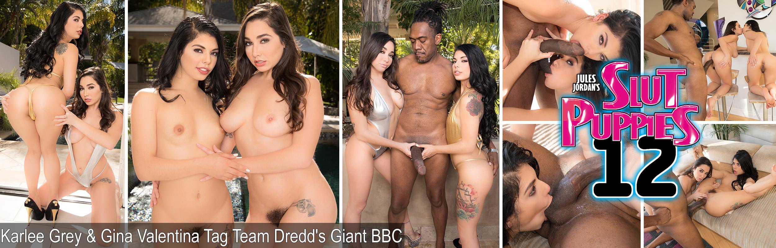 Karlee Grey & Gina Valentina Tag Team Dredd's Giant BBC