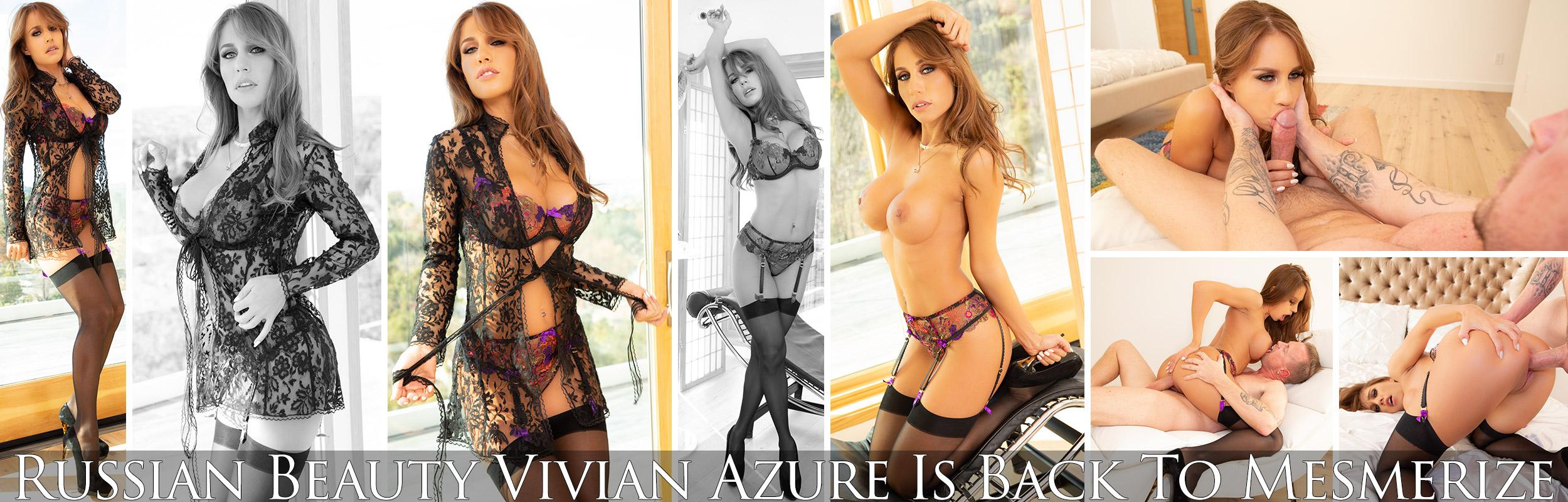Russian Beauty Vivian Azure Is Back To Mesmerize