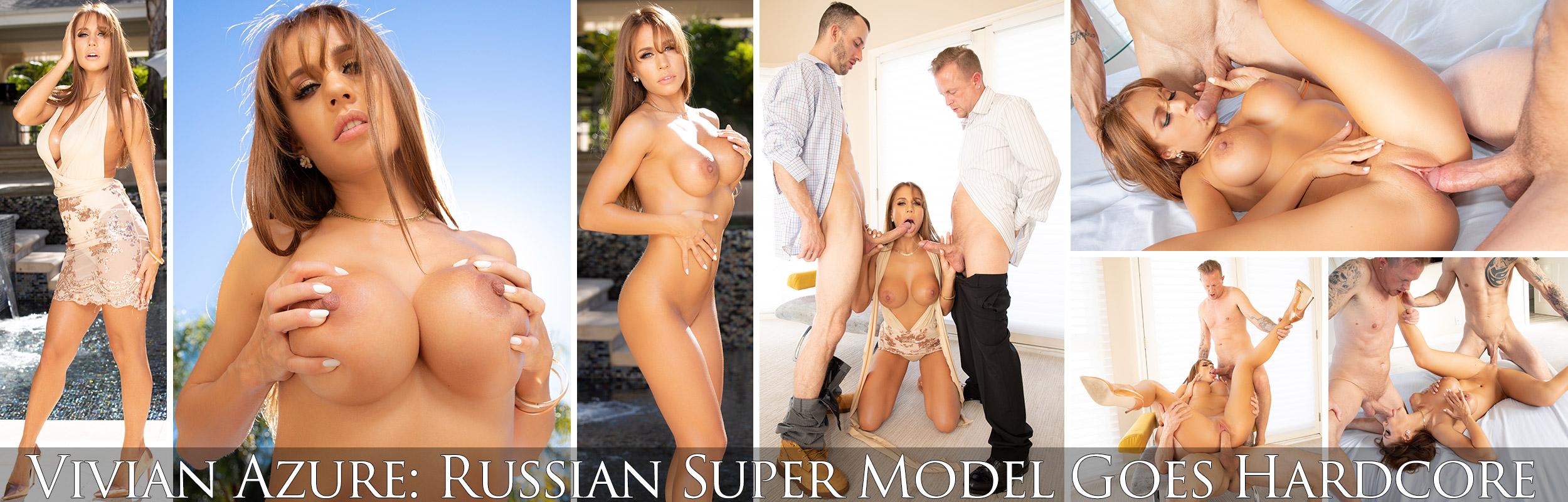 Vivian Azure: Russian Super Model Goes Hardcore