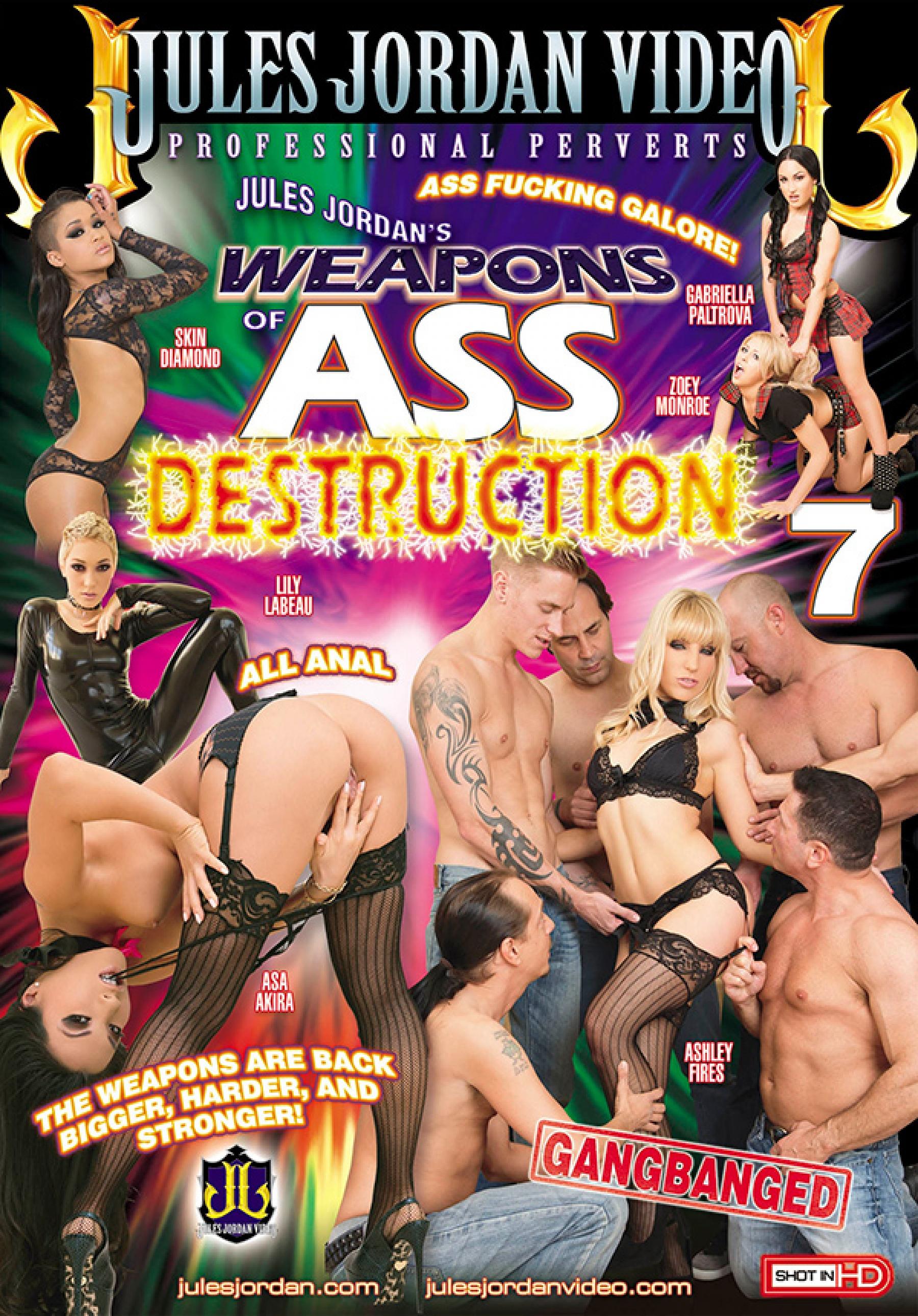Weapons of Ass Destruction #7 Porn Videos Jules Jordan's Official Pornstar  Site