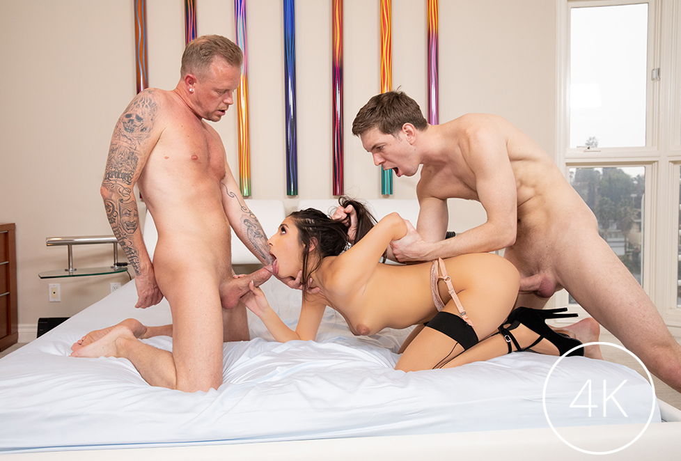 Cherokee Beauty Dior Threesome