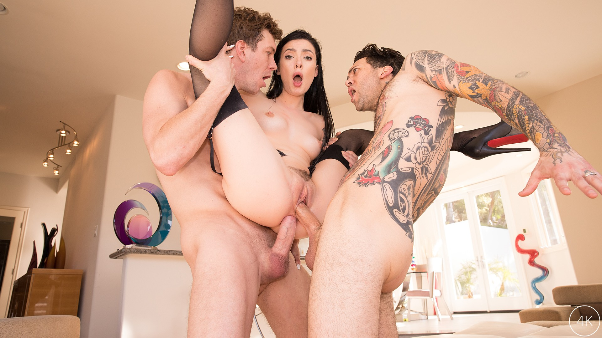 JulesJordan.com - Marley Brinx Receives An Intense DP