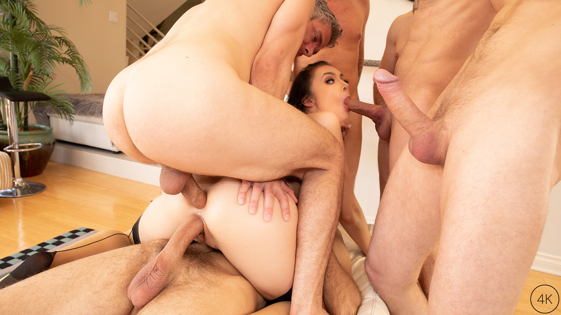 JulesJordan.com - The Gangbang Of Marley Brinx