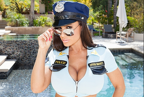 Lisa ann police sex