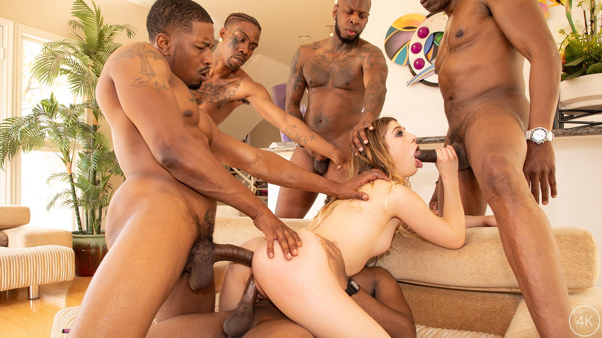 Download JulesJordan.com - Kristen Scott Interracial Gangbang!