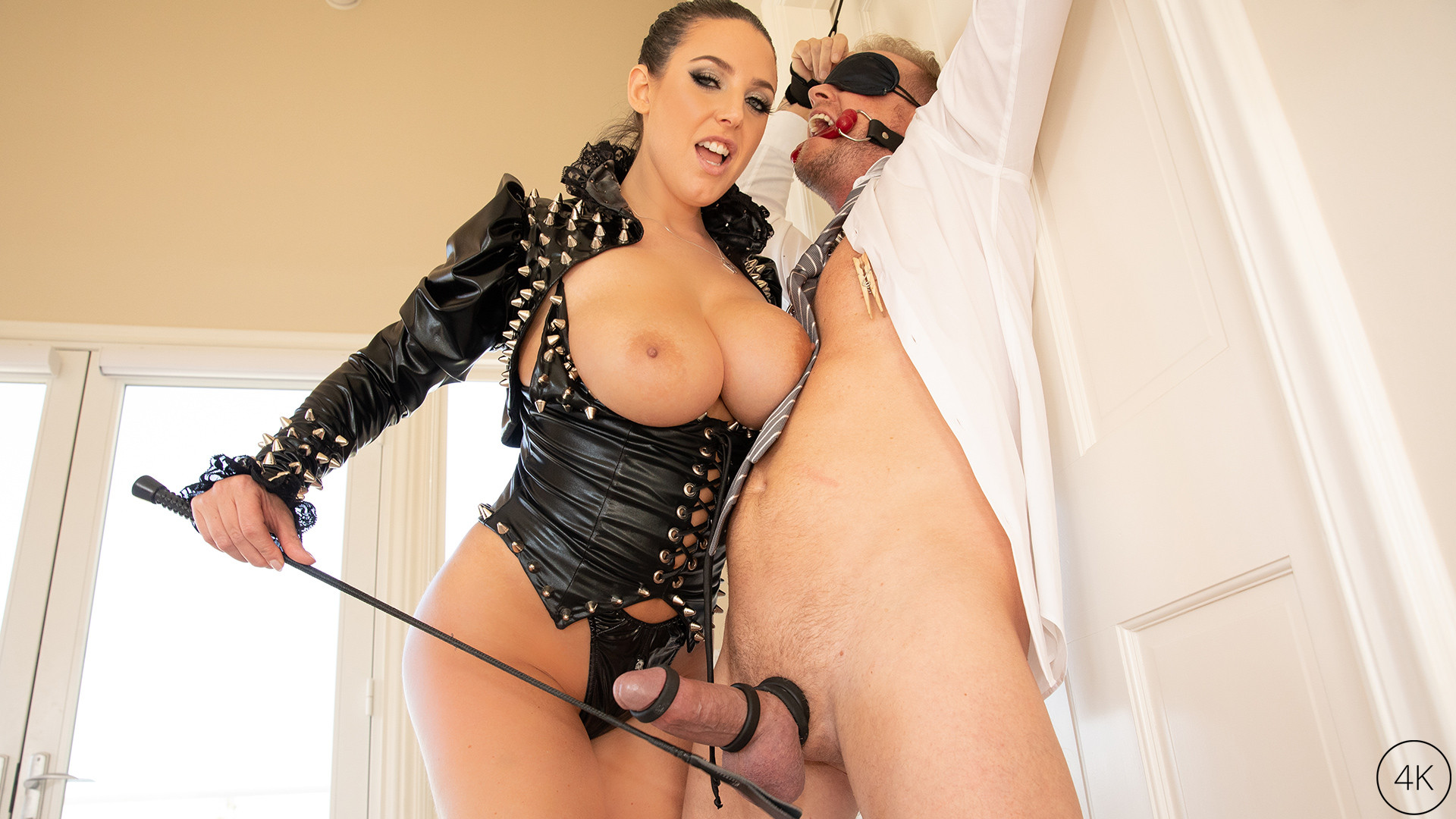 Download JulesJordan.com - Double D Discipline With Angela White