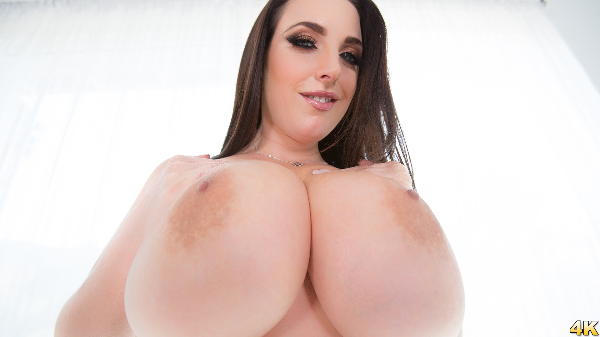 JulesJordan.com - Angela White Shows Off Her Big Natural 42G Tits, This Aussie Gets A Cock In Her Outback!