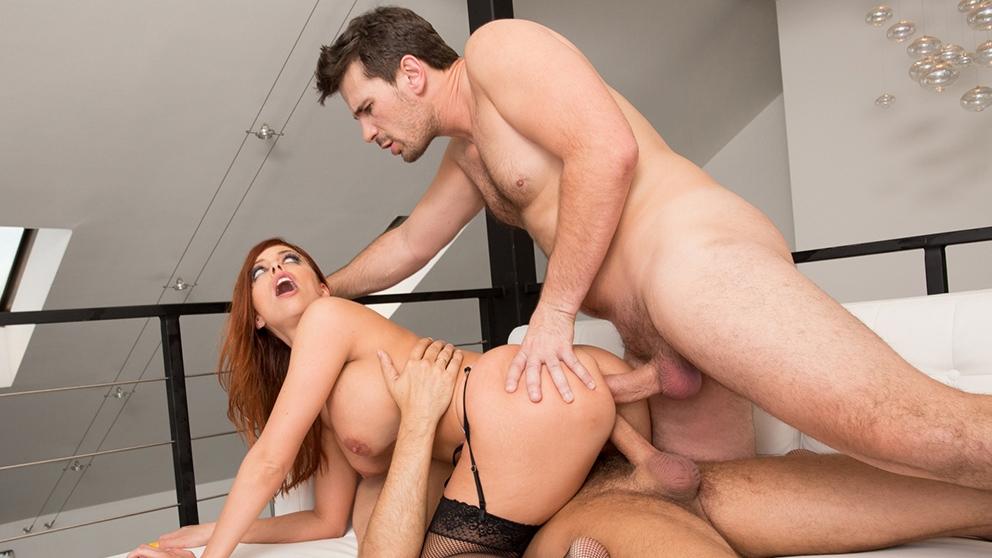 ManuelFerrara.com - Britney Amber Big Tit Slut DP'd
