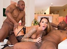 black lady sex movie