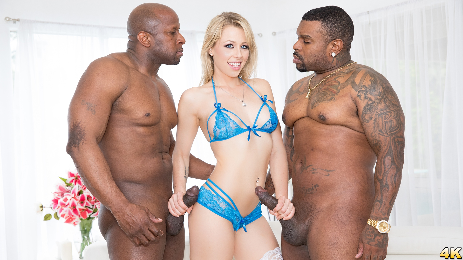 Download JulesJordan.com - Zoey Monroe Dp'd, Opens Up Her Holes For Two Big Black Cocks
