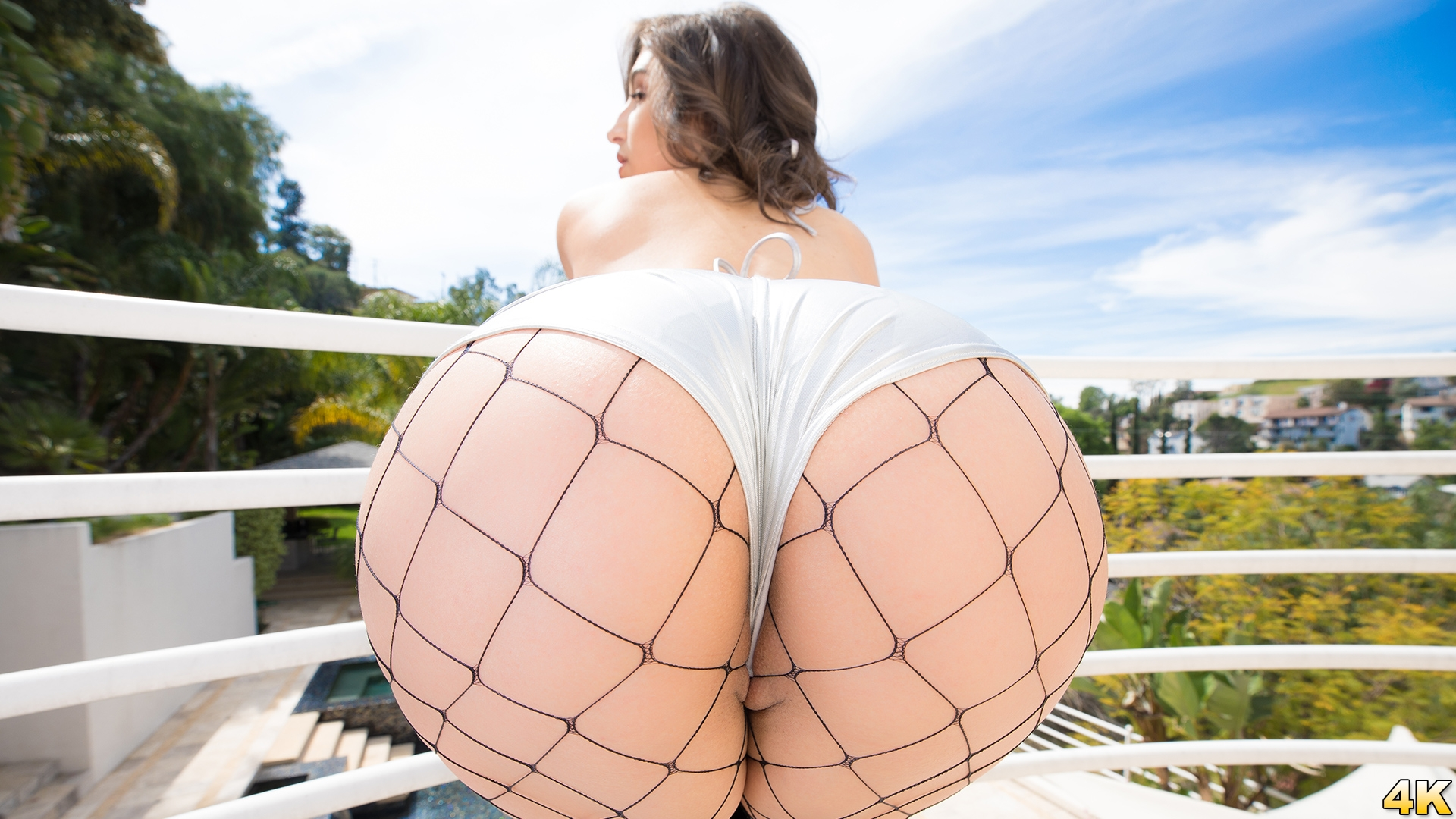 JulesJordan.com - Abella Danger Has Her ASS Stretched Open By A Big Black Cock