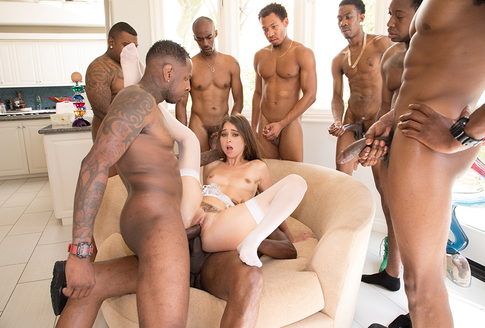 Young Black Teens Gangbang