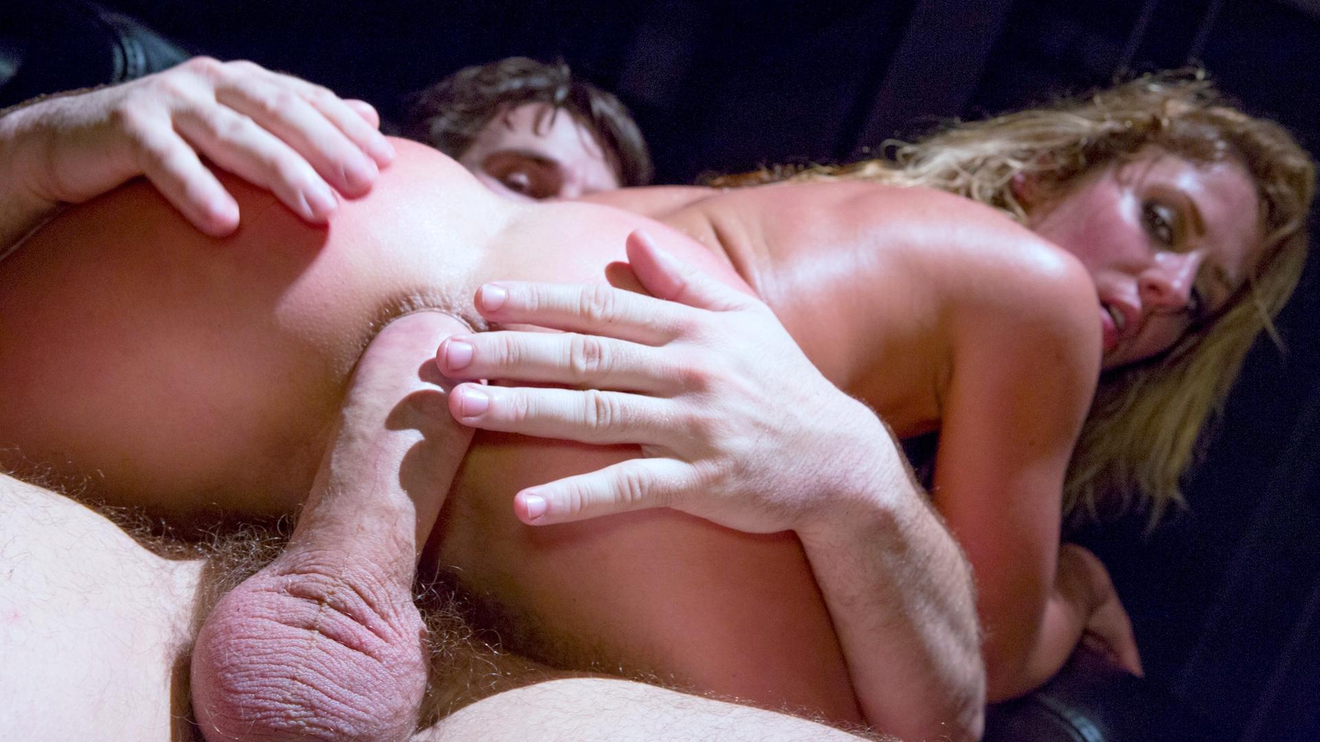ManuelFerrara.com - Sheena Shaw In An Oily Evil Anal Encounter...