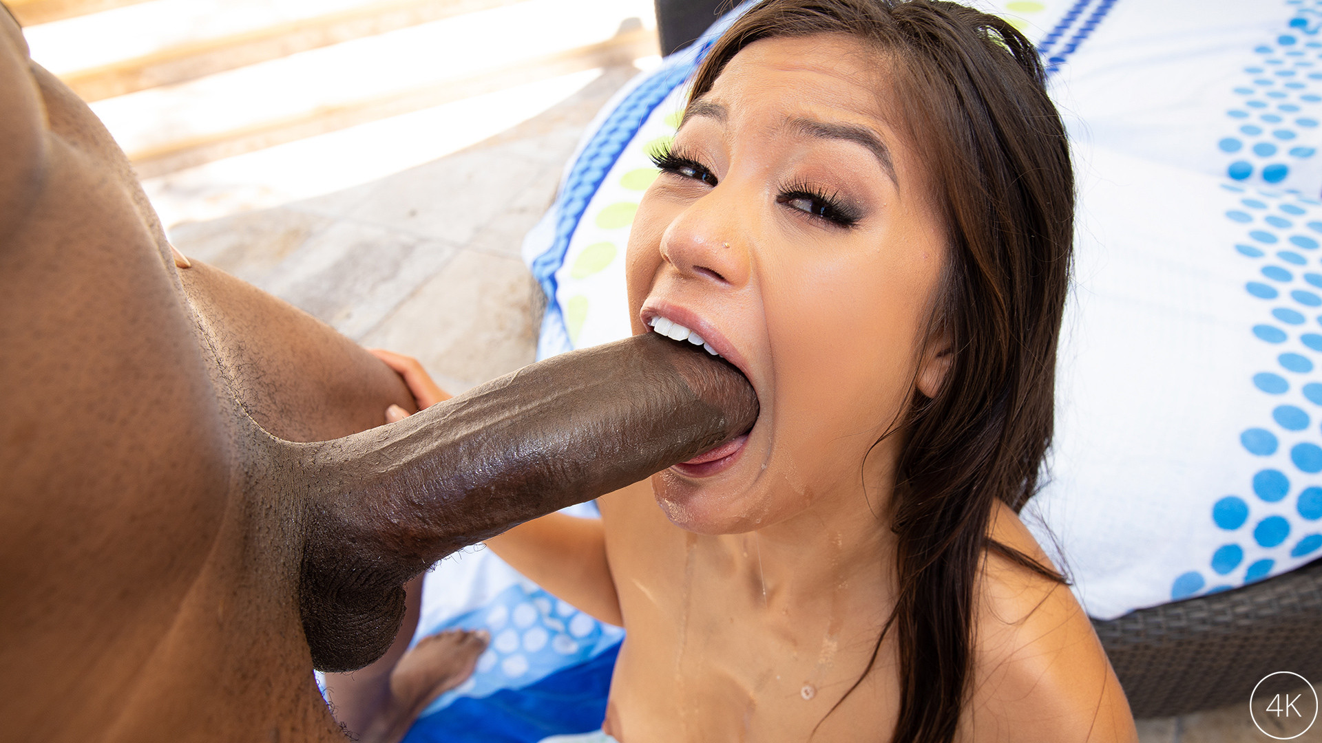 Download JulesJordan.com - Kendra Spade Has Her Tanning Session Interrupted By Dredd