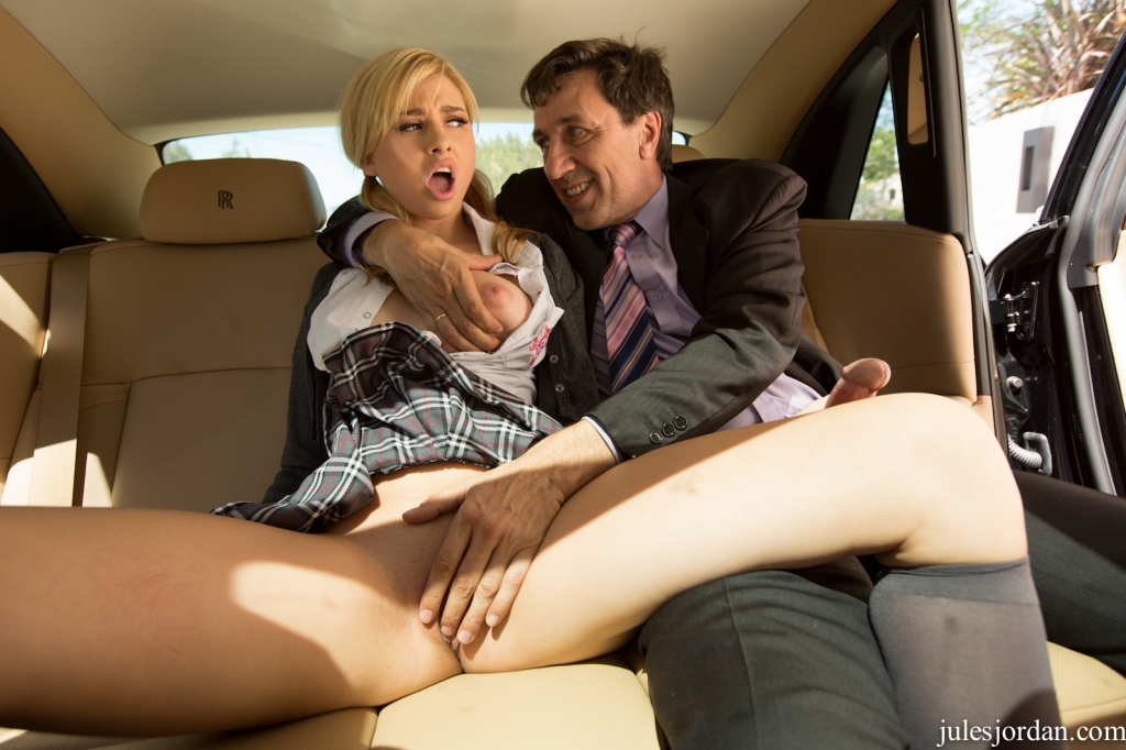 Remarkable Molly bennett seduces her chauffeur idea simply