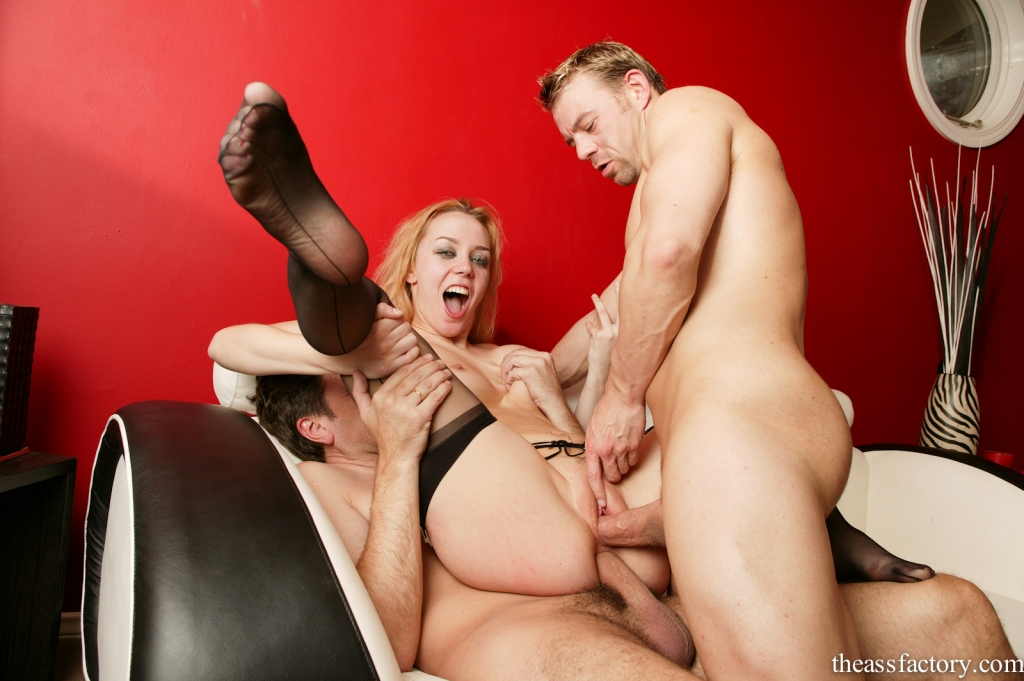 Bisexual Mmf Double Anal