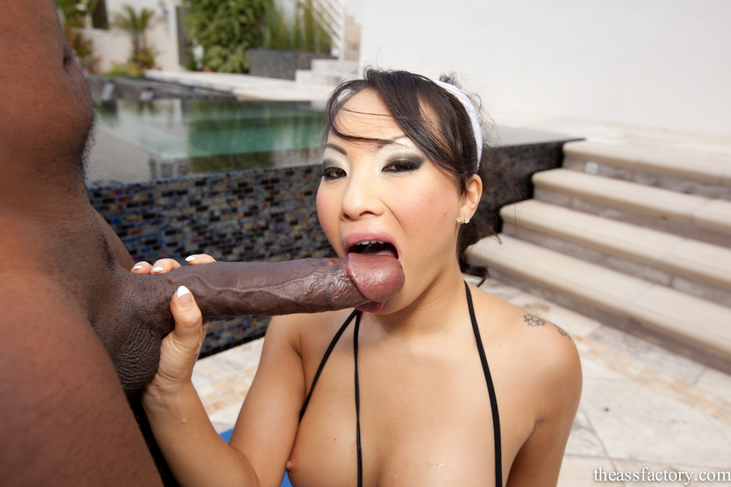 Black girl giving blow job vixen