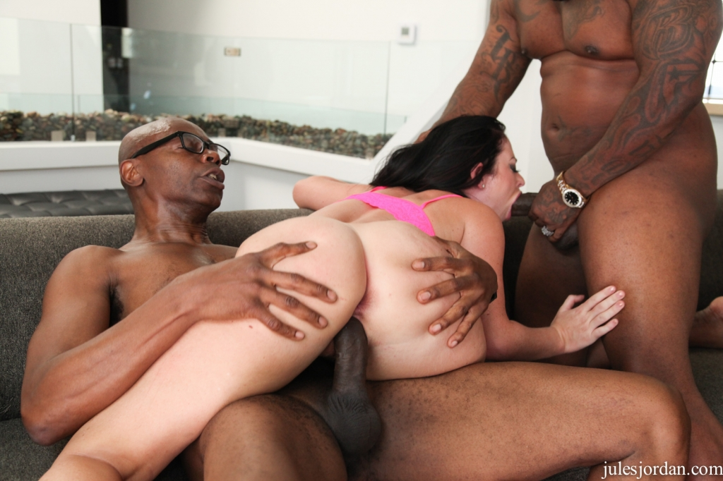 First time shy threesome